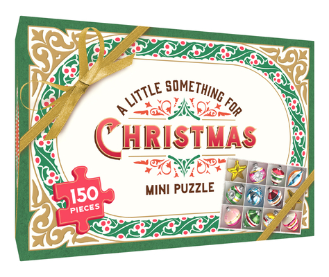 A Little Something for Good Cheer: 150-Piece Mini Puzzle Cover Image