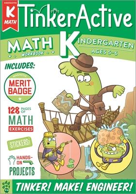 TinkerActive Workbooks: Kindergarten Math Cover Image