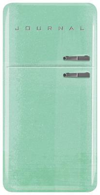Vintage Refrigerator Journal Cover Image
