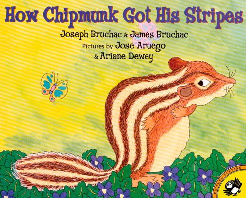 How Chipmunk Got His Stripes Cover Image