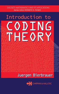 Introduction to Coding Theory (Discrete Mathematics and Its Applications #22) Cover Image