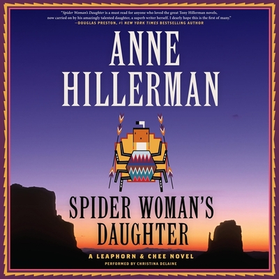 Spider Woman's Daughter Lib/E: A Leaphorn, Chee & Manuelito Novel Cover Image