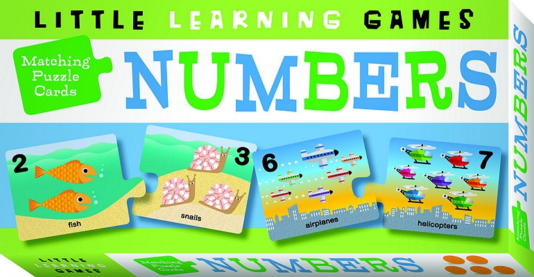 Matching Puzzle Cards: Numbers Cover Image