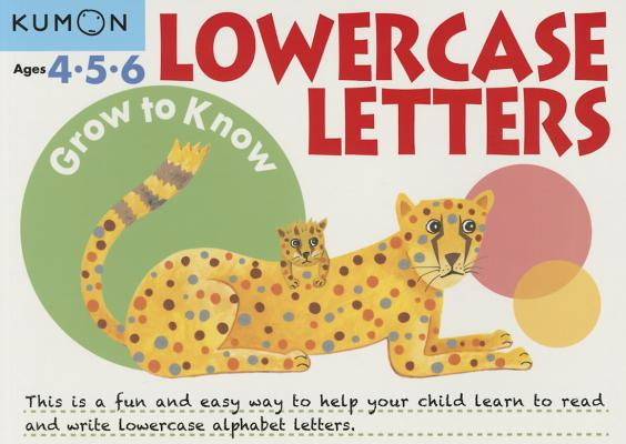 Grow to Know Lowercase Letters Cover Image