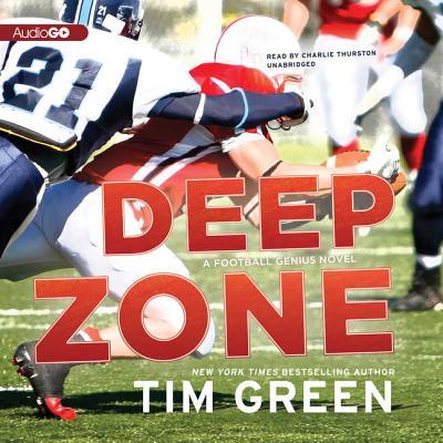 Deep Zone: A Football Genius Novel Cover Image