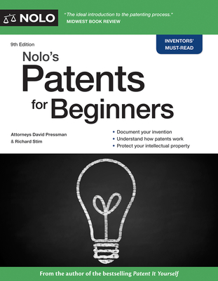 Nolo's Patents for Beginners: Quick & Legal Cover Image