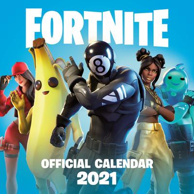 FORTNITE (Official): 2021 Calendar Cover Image