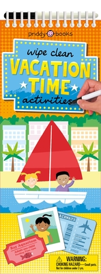 Wipe Clean Activities: Vacation Time (Wipe Clean Activity Books) Cover Image