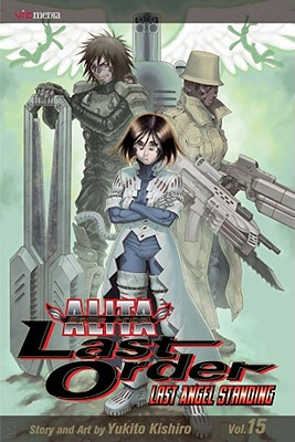 Battle Angel Alita Cover