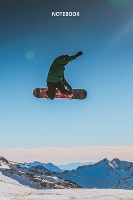 Notebook: Snowboarding (Sports #27) Cover Image