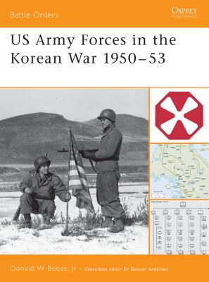 US Army Forces in the Korean War 1950 53 Cover