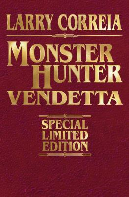 Monster Hunter Vendetta Signed Leatherbound Edition Cover Image