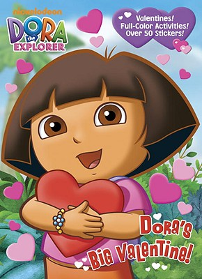 Dora's Big Valentine! Cover