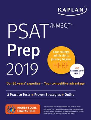PSAT/NMSQT Prep 2019: 2 Practice Tests + Proven Strategies + Online (Kaplan Test Prep) Cover Image