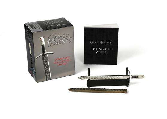 Game of Thrones: Longclaw Collectible Sword (RP Minis) Cover Image