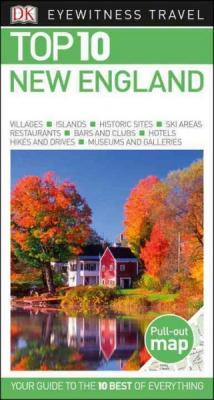 Top 10 New England (DK Eyewitness Travel Guide) Cover Image