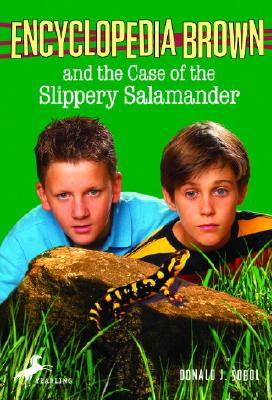 Encyclopedia Brown and the Case of the Slippery Salamander Cover Image