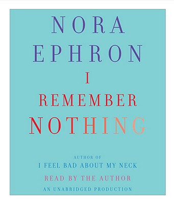 I Remember Nothing: And Other Reflections Cover Image