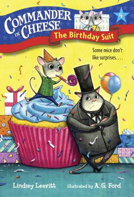 Commander in Cheese #4: The Birthday Suit Cover Image
