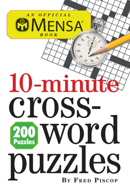 Cover for Mensa 10-Minute Crossword Puzzles