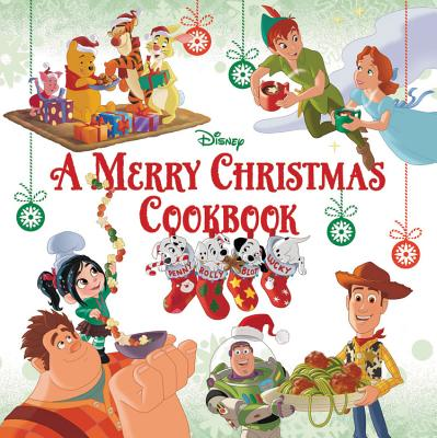 A Merry Christmas Cookbook Cover Image
