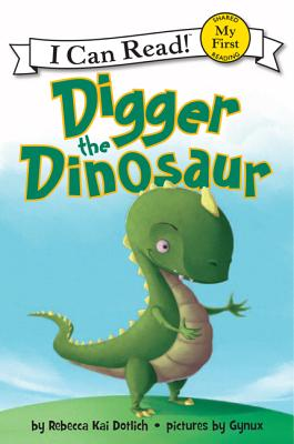 Digger the Dinosaur Cover