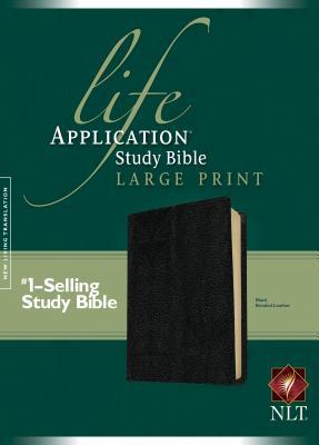 Life Application Study Bible-NLT-Large Print Cover Image
