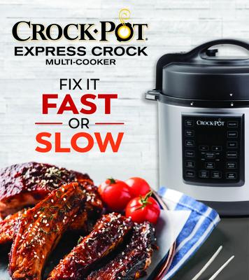 Crock-Pot Express Crock Multi-Cooker: Fix It Fast or Slow Cover Image