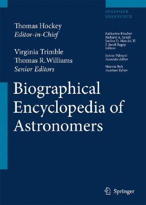 Cover for Biographical Encyclopedia of Astronomers