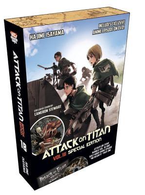 Attack on Titan 18 Manga Special Edition w/DVD (Attack on Titan Special Edition #3) Cover Image