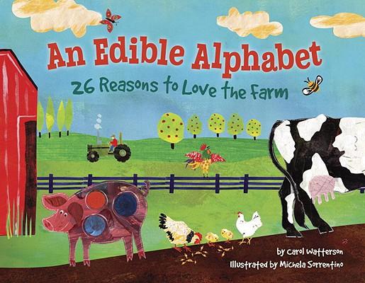 An Edible Alphabet Cover