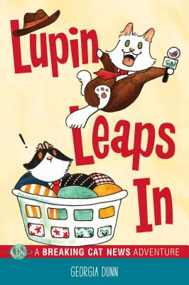 Lupin Leaps In: A Breaking Cat News Adventure Cover Image