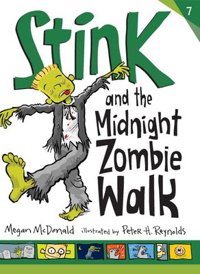 Stink and the Midnight Zombie Walk Cover