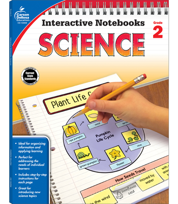 Science, Grade 2 (Interactive Notebooks) Cover Image
