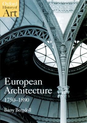 European Architecture 1750-1890 Cover Image