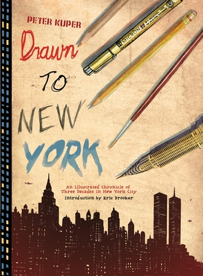 Drawn to New York Cover