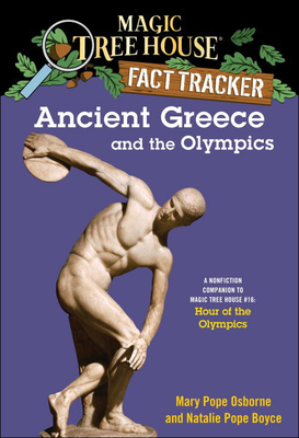 Ancient Greece and the Olympics (Magic Tree House Fact Tracker #10) Cover Image