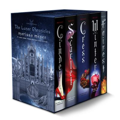 The Lunar Chronicles Boxed Set: Cinder, Scarlet, Cress, Fairest, Winter Cover Image