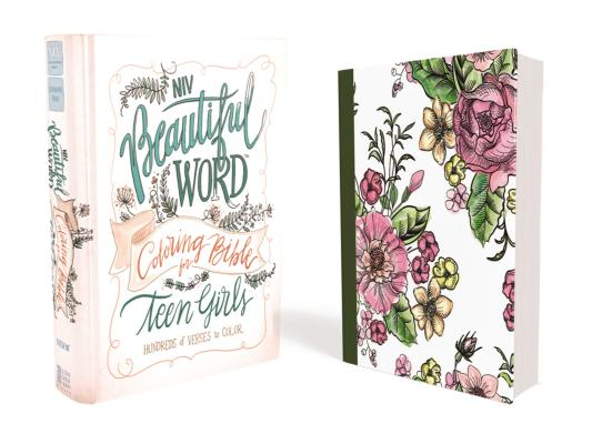 NIV, Beautiful Word Coloring Bible for Teen Girls, Hardcover: Hundreds of Verses to Color Cover Image
