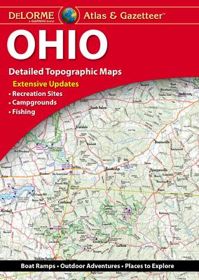 Delorme Ohio Atlas & Gazetteer Cover Image