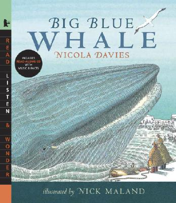 Big Blue Whale [With Read-Along CD] Cover Image