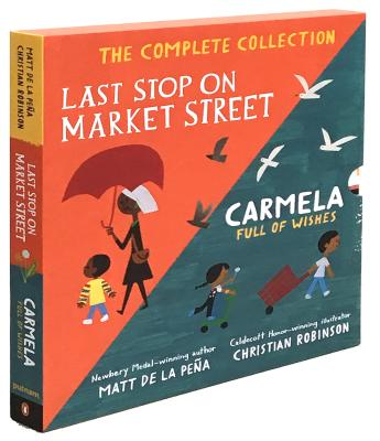 Last Stop on Market Street and Carmela Full of Wishes Box Set Cover Image