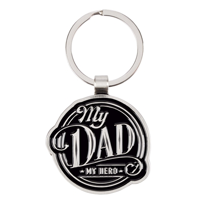 Key Ring in Tin My Dad, My Hero Cover Image