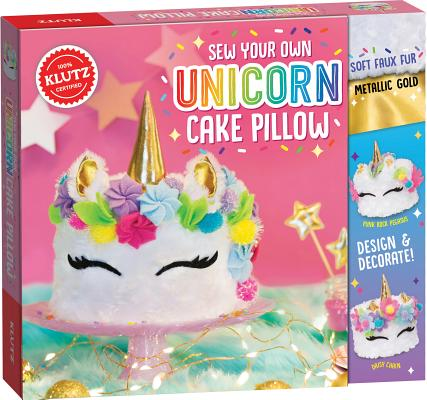 Sew Your Own Unicorn Cake Pill Cover Image