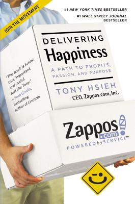 Delivering Happiness cover image