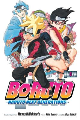 Boruto, Vol. 3 cover image
