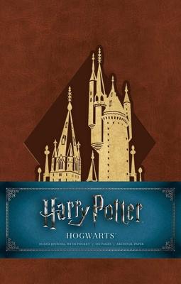 Harry Potter: Hogwarts Hardcover Ruled Journal Cover Image