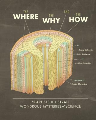 The Where, the Why, and the How: 75 Artists Illustrate Wondrous Mysteries of Science Cover Image