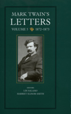 Mark Twain's Letters, Volume 5 Cover