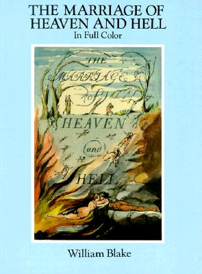 The Marriage of Heaven and Hell: A Facsimile in Full Color (Dover Fine Art) Cover Image